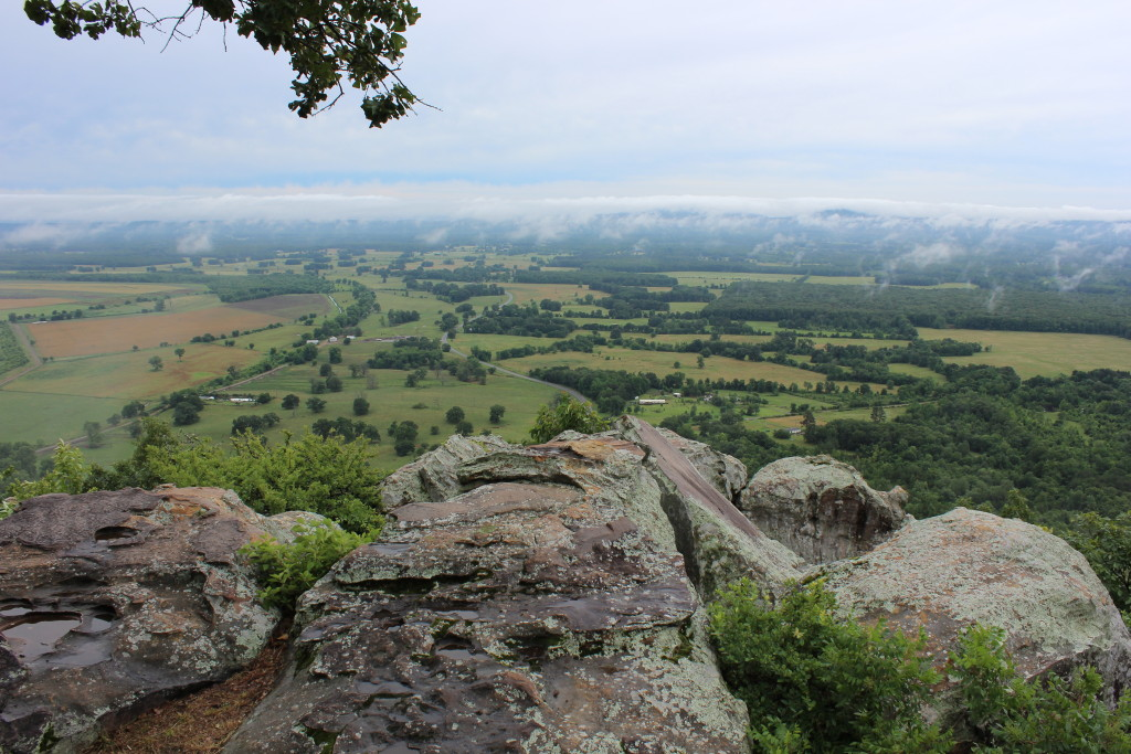 View from Petit Jean Mountain, Arkansas