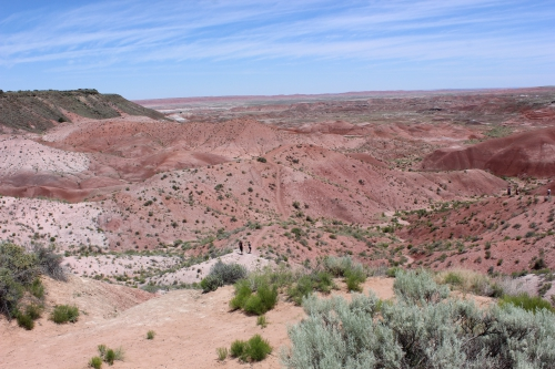 Heading out into the Painted Desert