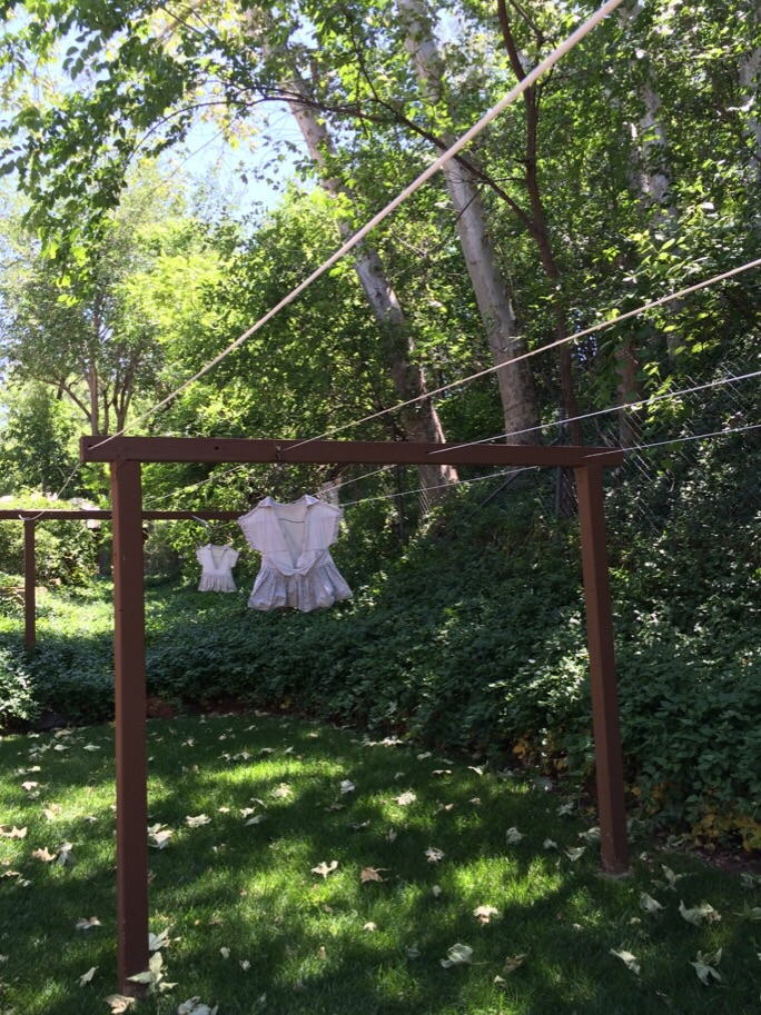 Even the Clothesline was Cute!
